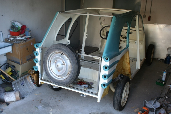 2CV Hatch doors