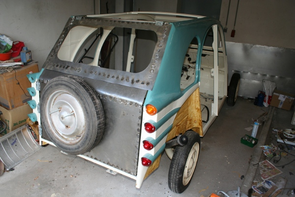 2CV Hatch door