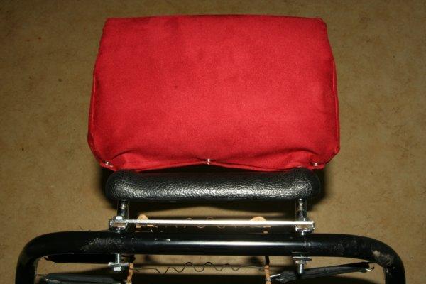 2CV Sitze head restraint