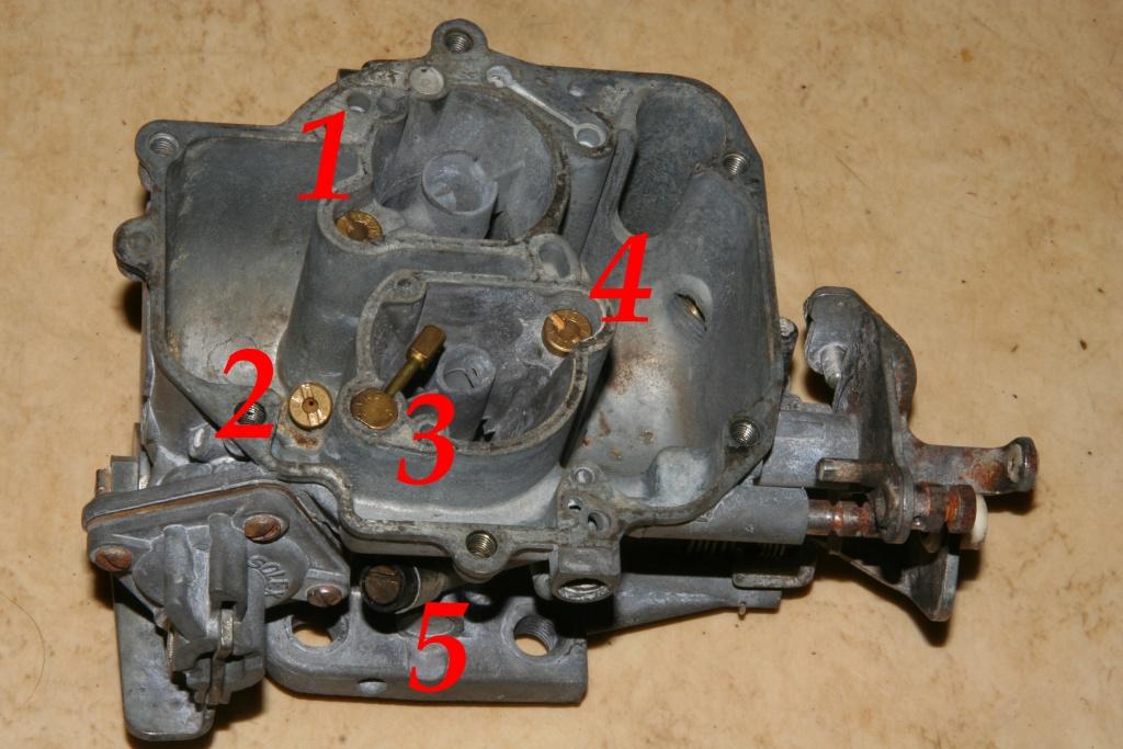 Entmontage-Carburetor