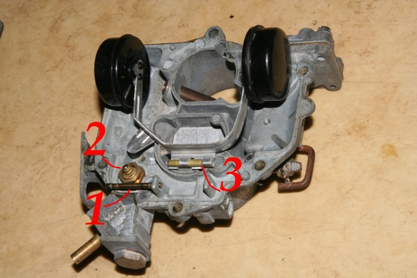 2CV carburetor floater