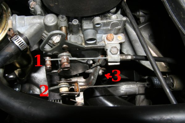 2CV carburetor choke